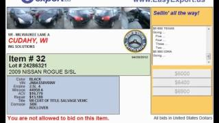Milwaukee Auto Auction is Held in WI