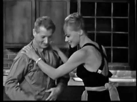 Nita Talbot, Louis Jourdan, Danny Kaye--Jealousy Sketch, 1963 TV
