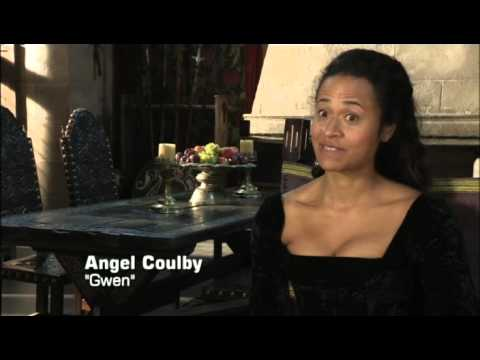 Bradley James & Angel Coulby on POV, 7 October 2012. Includes clips from 5.02.