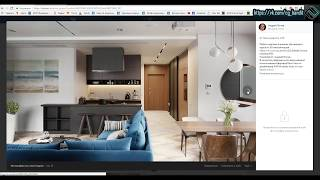 Создание интерьера с нуля для новичков 3d max + Corona Renderer (1 часть)