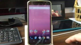 Nexus 6 FRP Bypass on Android N Developer Preview Security Patch April 2016