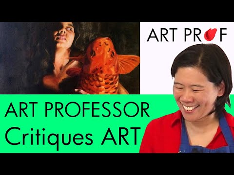 Art Critique: Self-Portrait Oil Paintings