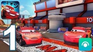 Cars: Fast as Lightning - Gameplay Walkthrough Part 1 - Todd