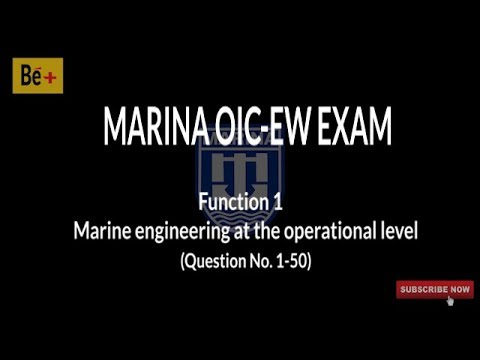 Marina OIC-EW Exam Reviewer (Function 1, Part 1)