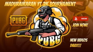MaduraikaranYT 2K Pubg Mobile Tournament  Match Point Table and overall points table