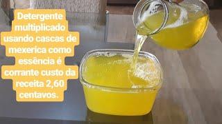 Faça detergente multiplicado com ingredientes caseiro – Uso e vendas.