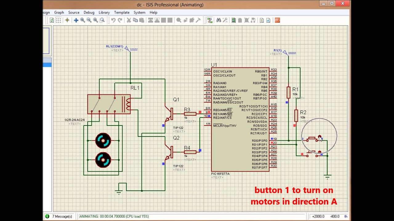 Simple Bidirectional Dc Motor Speed Controller Without A 8590569 Pwm Circuit Using Ic556 Electronic