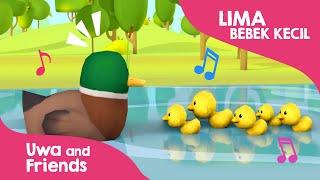 Download Lima 5 bebek kecil berenang  - Lagu Anak Populer 2020