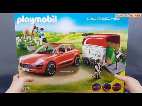 playmobil 9376 porsche macan gts coches de juguete para. Black Bedroom Furniture Sets. Home Design Ideas