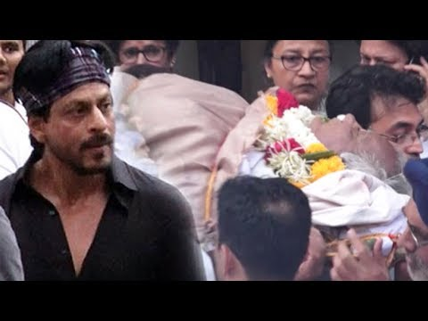 Full Video: Shah Rukh Khan's Close Friend Kundan Shah's Funeral
