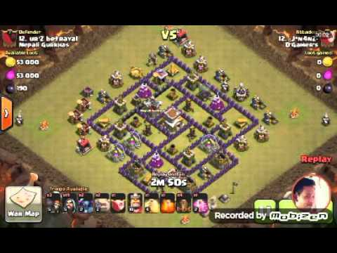 TH 8 GOWIPE ATTACK by: -J*n4nZ-