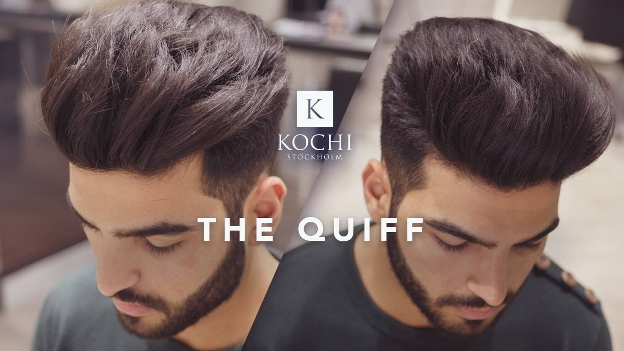 big volume quiff - mens haircut and hairstyle 2017