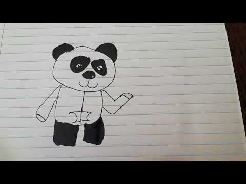 Drawing picture for The Mining Panda 19