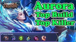 Aurora Top Build Top Killer - Mobile Legends (ML)