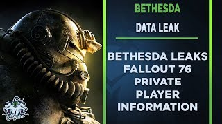 Bethesda Leak Fallout 76 Customer Names, Addresses, and Phone Numbers
