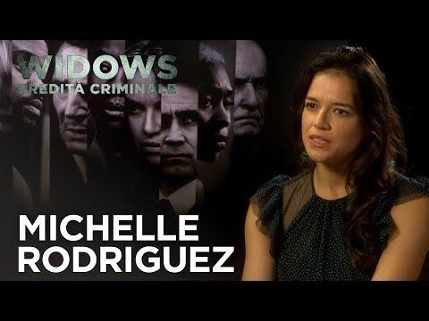 Widows - Eredità Criminale | Intervista a Michelle Rodriguez HD | 20th Century Fox 2018