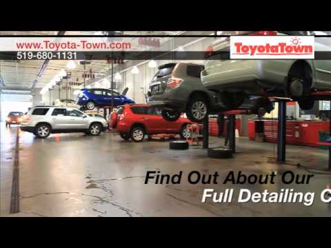 Toyota Oil Change   Oil Change Service Near the Stratford, ON Area