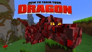 Minecraft - HOW TO TRAIN YOUR DRAGON - Dragon Race! [43]