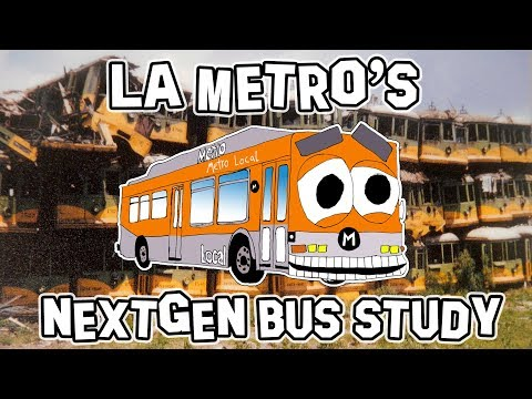 LA Metro's NextGen Bus Study