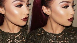 Fall Glam Makeup Tutorial