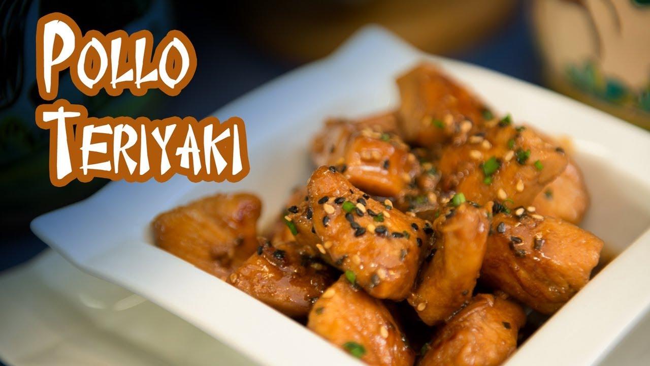 Como Hacer Pollo Teriyaki Receta Cocina Japonesa