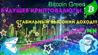 Криптовалюта Будущего!!! (Bitcoin Green) MN Power