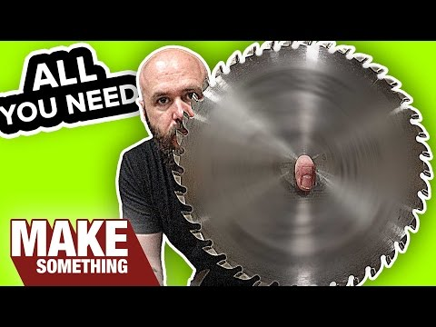 The Only Table Saw Blades You'll Ever Need