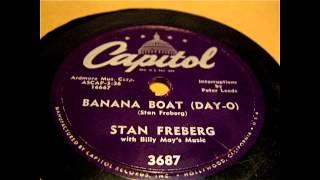 Stan Freberg - Banana Boat Day O 78 rpm!