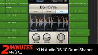 XLN Audio DS 10 Drum Shaper VST/AU plugin in action