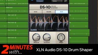 XLN Audio DS 10 Drum Shaper VST/AU plugin in action