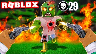 ROBLOX ZOMBIE KILLING SIMULATOR