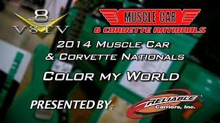 Muscle Cars and Rock & Roll Guitars On Display At 2014 Muscle Car & Corvette Nationals Video V8TV