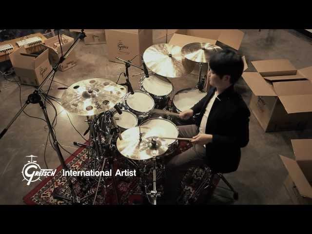 [Drummer Junghoon Lee] Open Solo -Gretsch Drums-