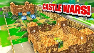 CASTLE WARS Custom Mode in Fortnite w/ Lazarbeam, TypicalGamer & AlexAce