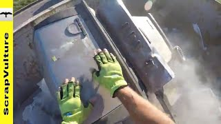 Nitty Gritty DIRTY MESS Dumpster Dive SCRAPPING Action
