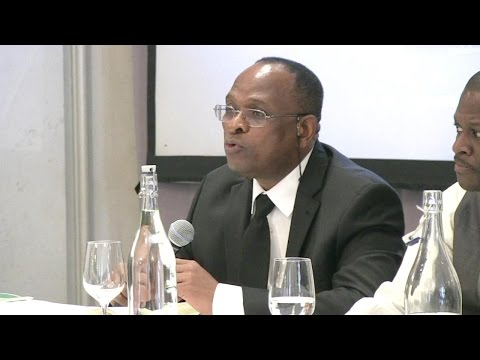 Dr Charles Kimei in Panel Discussion  African Magazine Award NY 2016