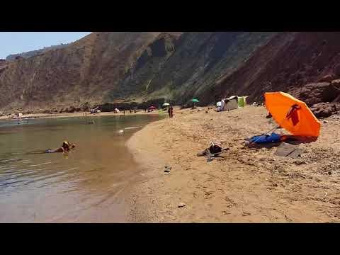 La playa caporosso (argelia) شاطئى كابوروسو وهران الجزائر