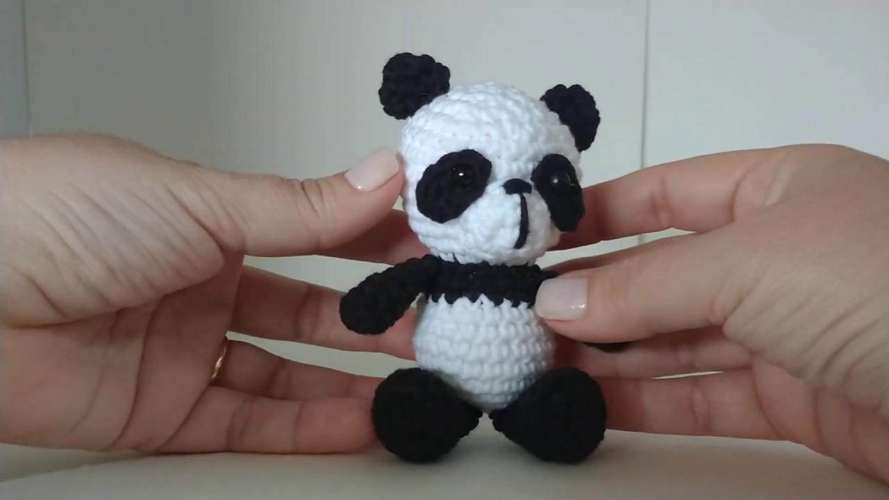 Panda amigurumi – Descrição do Passo a Passo – Bonek de Crochê | 720x1280