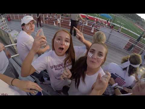 Union Grove Student Section CLASS OF 2018 UGHS