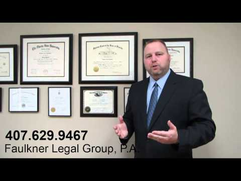 Modifying a Florida family law order in Orlando family law attorney David Faulkner