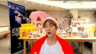 161223 BAEKHYUN CUT For Life Santa Version Baek Santa SM Super Celeb League