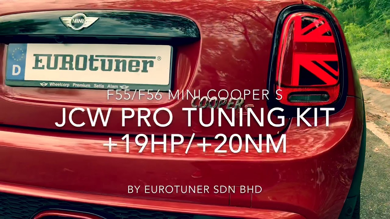 F56/F55 MINI JCW Tuning kit with remote control exhaust sound, ECU Remap  +19hp/20Nm