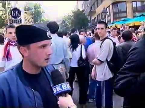 Razbijanje Gej Parade U Beogradu - Belgrade - 2001 - BKTV