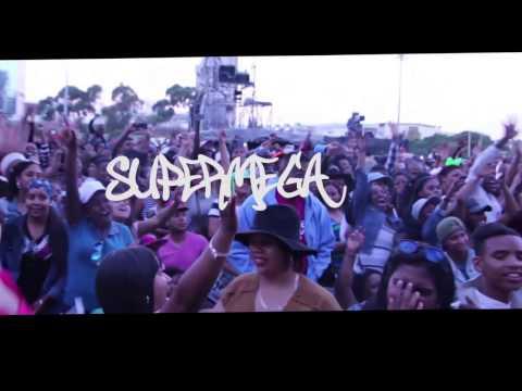 AKA SUPER MEGA performing at Festive Lights Cape Town || Headlines Magazine CPT