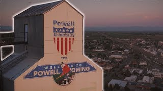 Powell, Wyoming - Aerial Reel