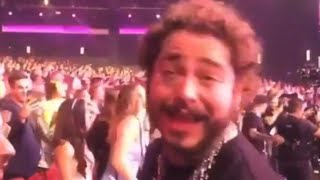 Post Malone Has The Time Of His Life During Shania Twain Show Video