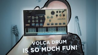 The BEST Volca yet? (Volca Drum review)