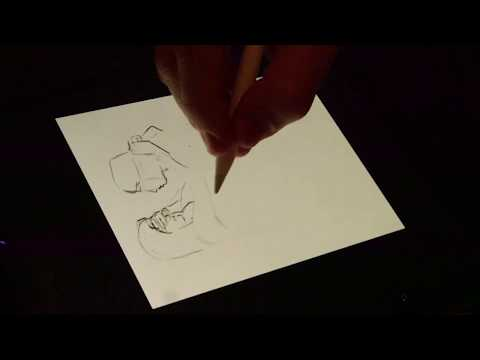 Painters Palace live drawing at Szimpla