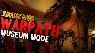 Jurassic Park: Warpath | Museum Mode (All Dinosaurs!) + New T-Rex Skin
