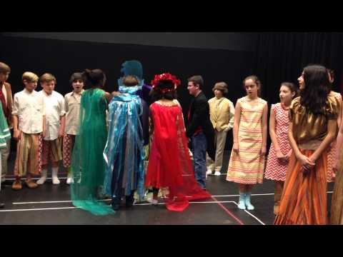 GFA middle school presents Once on this Island